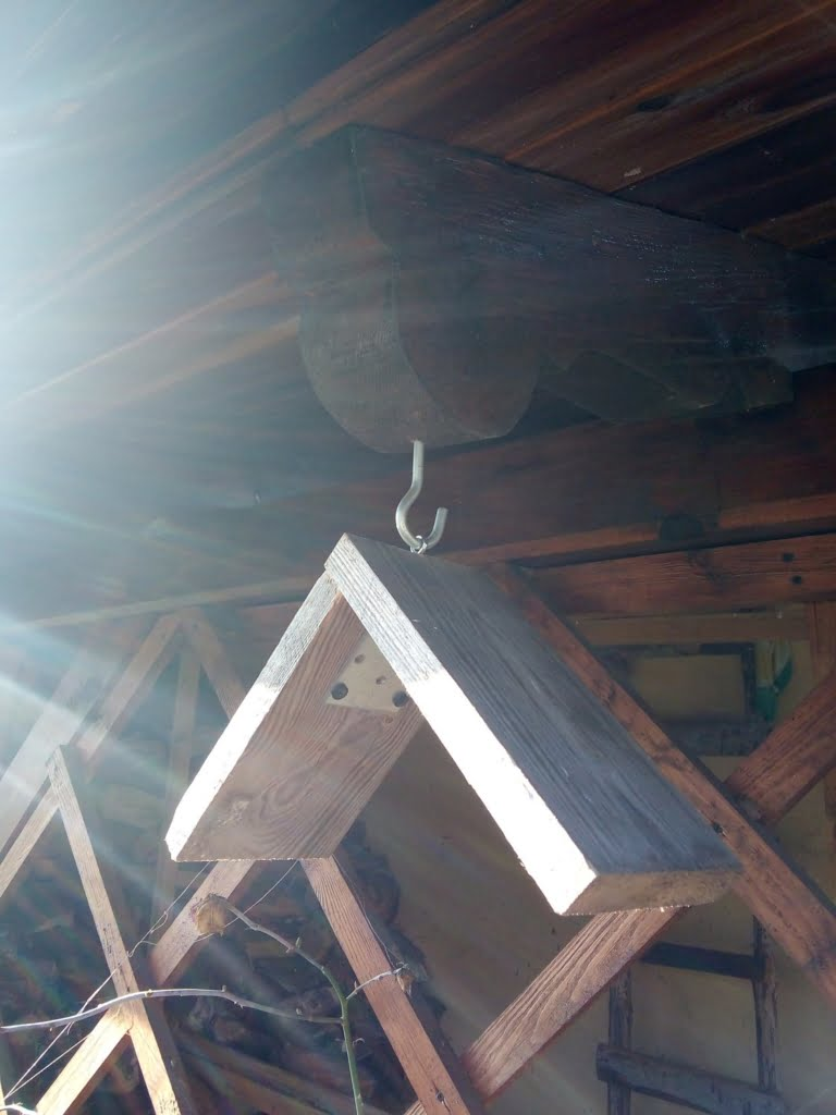 gotowy karmnik dla ptaków