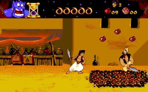 zabawy dla dzieci - gra Aladdin