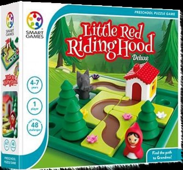 Gry planszowe dla 4 latków - Czerwony Kapturek