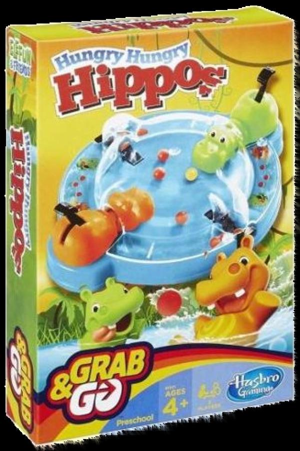 Hungry Hippos Grab & Go