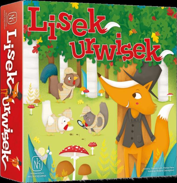 Gry planszowe dla 5 latka - Lisek Urwisek