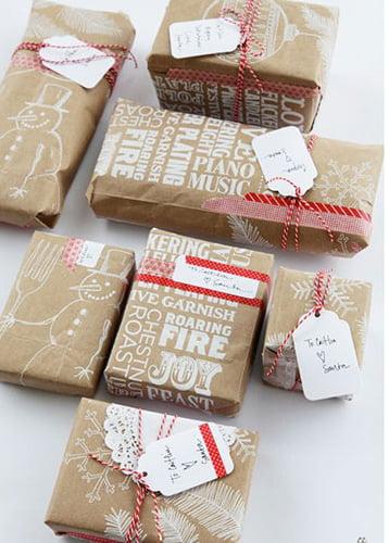 Jak zapakować prezent dla dorosłych - pomysł 3