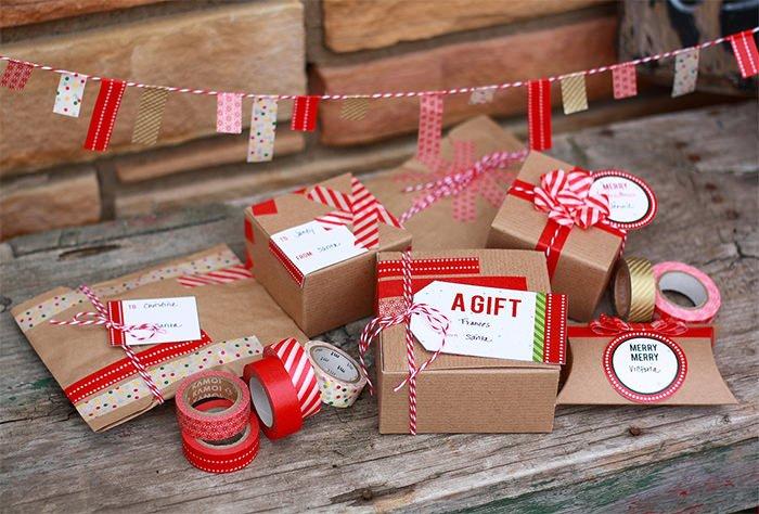 Pakowanie prezentów dla dorosłych - pomysł 7