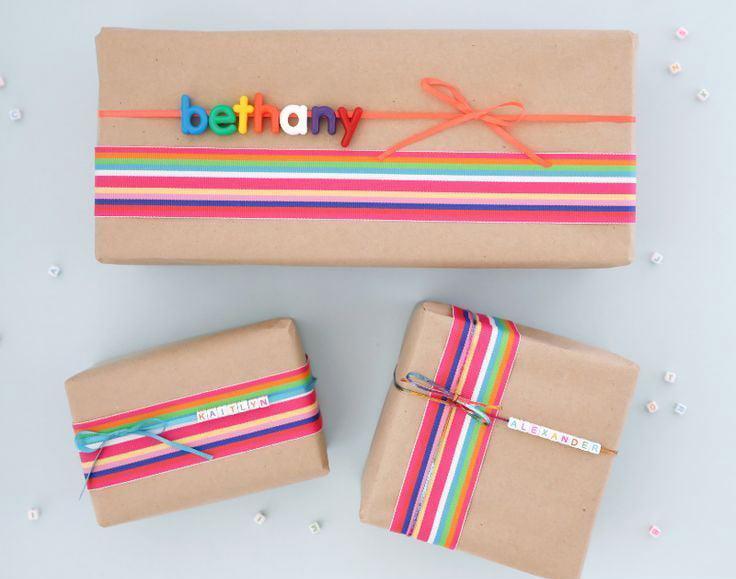 Pakowanie prezentów dla dzieci - pomysł 1