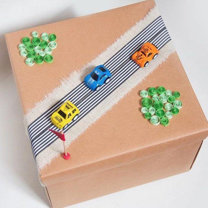 Pakowanie prezentów dla dzieci - pomysł 2