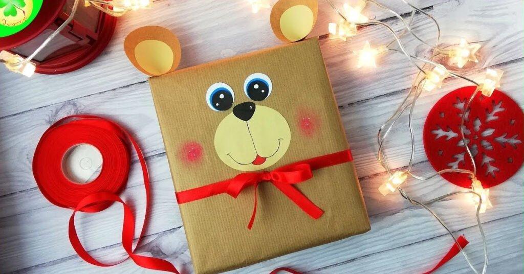 Jak zapakować prezent dla dziecka - pomysł 6