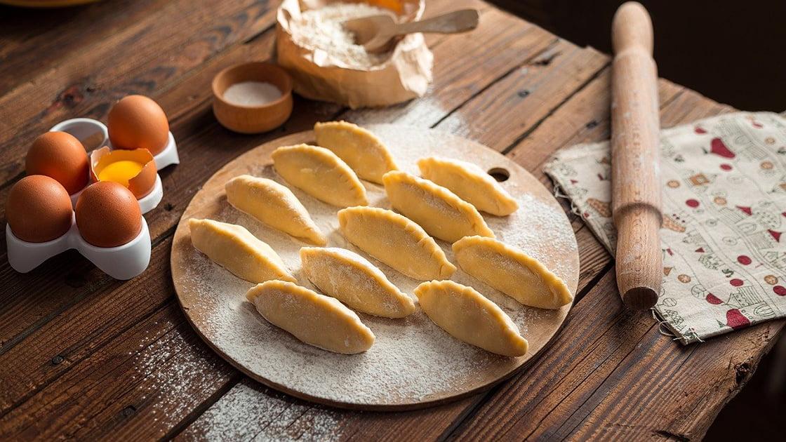 Pierogi z mąki orkiszowej
