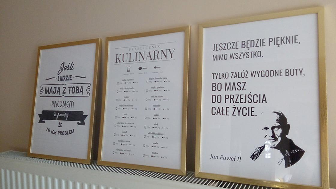 Nasze plakaty w Waszych domach