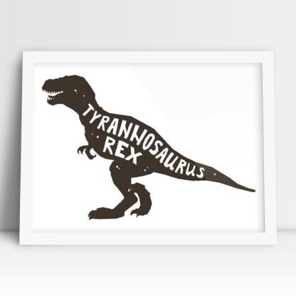 tyranozaur rex plakaty do pokoju chłopca dinozaur do powieszenia na ścianie
