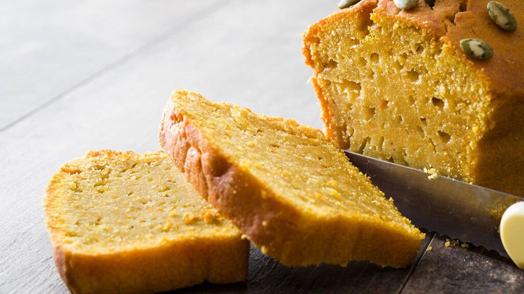 Chleb z dyni pszenny na drożdżach