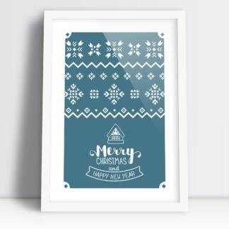 Merry Christmas and Happy new year ozdoby bożonarodzeniowe