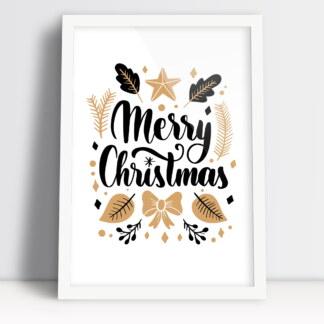 Plakaty świąteczne na Boże Narodzenie