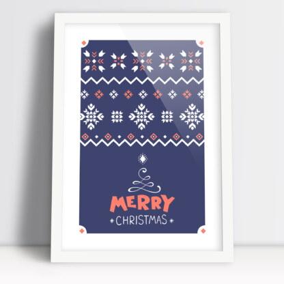 Plakaty świąteczne do druku Merry Christmas Wesołych Świąt Bożego narodzenia
