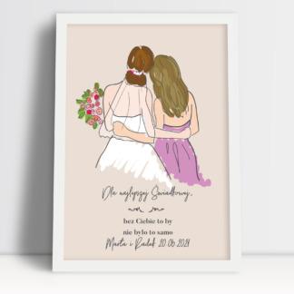 Podziękowania dla świadka i świadkowej, prezent dla rodziców i świadków na weselu. Oryginalne i kreatywne podziękowania dla drużbów.